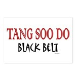 Tang Soo Do Black Belt 1 Postcards (Package of 8)