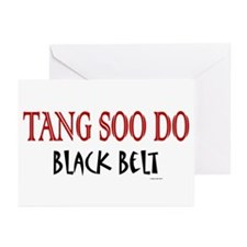 Tang Soo Do Black Belt 1 Greeting Cards (Package o