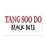 Tang Soo Do Black Belt 1 Mini Poster Print