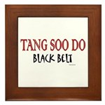 Tang Soo Do Black Belt 1 Framed Tile