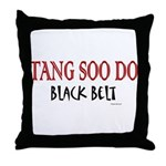 Tang Soo Do Black Belt 1 Throw Pillow