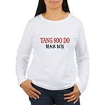 Tang Soo Do Black Belt 1 Women's Long Sleeve T-Shi