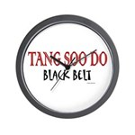 Tang Soo Do Black Belt 1 Wall Clock