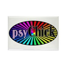 PsyChick Rectangle Magnet (10 pack)