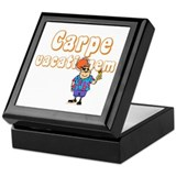 Carpe Vacationem m Keepsake Box