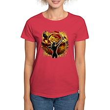 I Am The Mockingjay Women's Dark T-Shirt