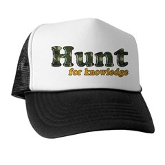 Hunt for Knowledge Trucker Hat