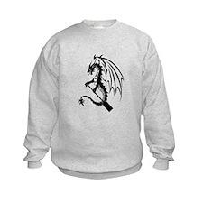 Dragon with paddle logo Sweatshirt