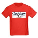 Groklaw Penguin Kids Red T-Shirt