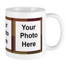 MacRae Tartan Photo Mug