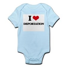 I Love Deportation Body Suit