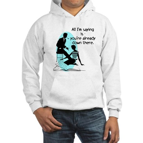 Oral Sex Talk Hooded Sweatshirt