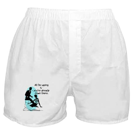Oral Sex Talk Boxer Shorts