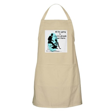 Oral Sex Talk Apron