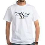 Groklaw Penguin White T-Shirt