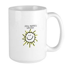 Large Good Morning Sunshine Mug