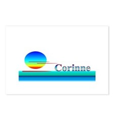 Corinne Postcards (Package of 8)