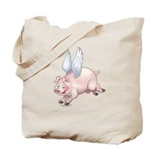 Flying Piggies Tote Bag