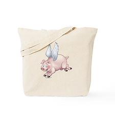 Flying Piggies Tote Bag