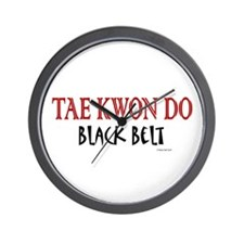 Tae Kwon Do Black Belt 1 Wall Clock