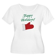 Fappy Holidays Christmas Plus Size T-Shirt