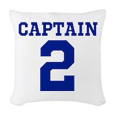 CAPTAIN #2 Woven Throw Pillow