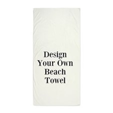 Your Photo Or Image Beach Towel