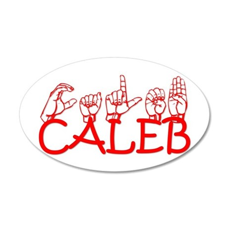 Caleb Wall Decal