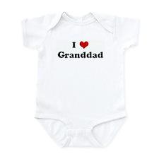 I Love Granddad Onesie