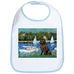 Sailboats & Newfoundland Bib