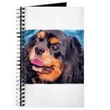 Black &amp; Tan Cavalier King Cha Journal