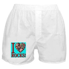 I Love Rocks! Boxer Shorts