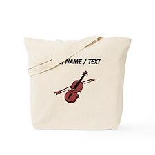 Custom Violin Tote Bag