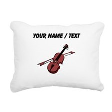 Custom Violin Rectangular Canvas Pillow