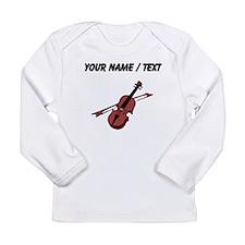 Custom Violin Long Sleeve T-Shirt