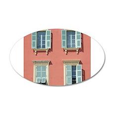 Shuttered windows in France Wall Sticker