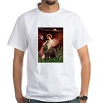 Angel & Newfoundland (B2S) White T-Shirt