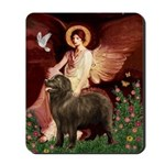Angel & Newfoundland (B2S) Mousepad