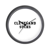 Cleveland Sucks Wall Clock