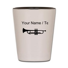 Custom Trumpet Shot Glass