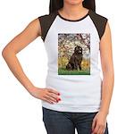 Spring / Newfoundland Women's Cap Sleeve T-Shirt