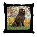 Spring / Newfoundland Throw Pillow