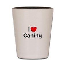 Caning Shot Glass
