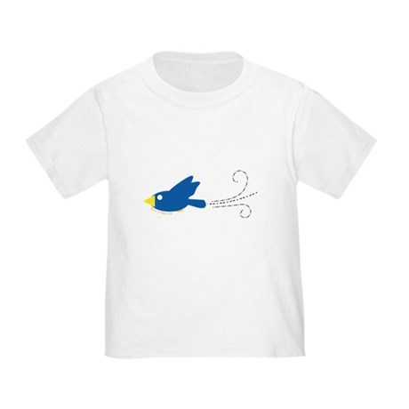 Twin A Flying Bird Toddler T-Shirt