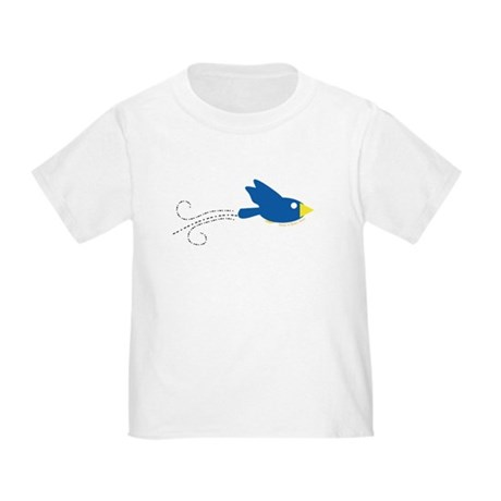 Twin B Flying Bird Toddler T-Shirt