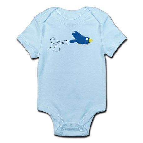 Twin B Flying Bird Infant Bodysuit