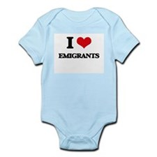 I love Emigrants Body Suit