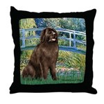 Bridge / Newfoundland Throw Pillow