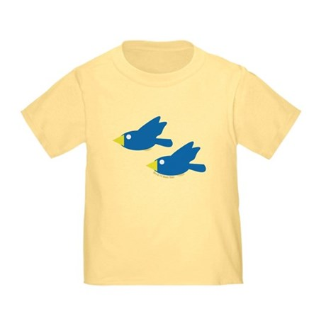 Twin Parent Birds Toddler T-Shirt