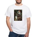 Ophelia / Newfoundland White T-Shirt